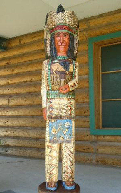 Chief Cigar Store Indian 33986