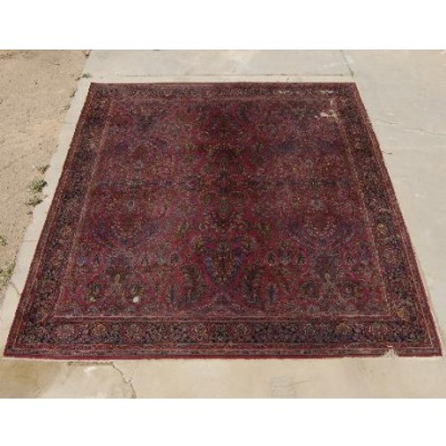 Antique Persian Wool Rug 25128