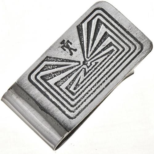 Hopi Man In The Maze Money Clip 28983