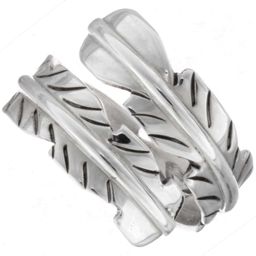 Adjustable Feather Ring 23063