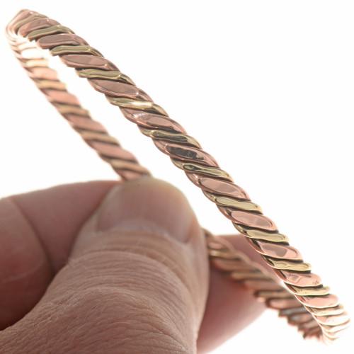 Navajo Twist Wire Tahe Bracelet 19769