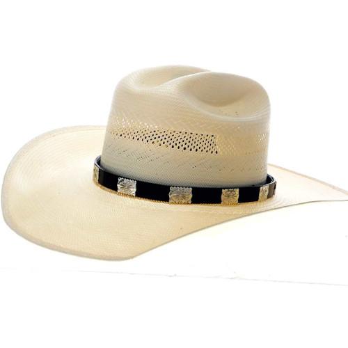Silver Concho Hatband 24749