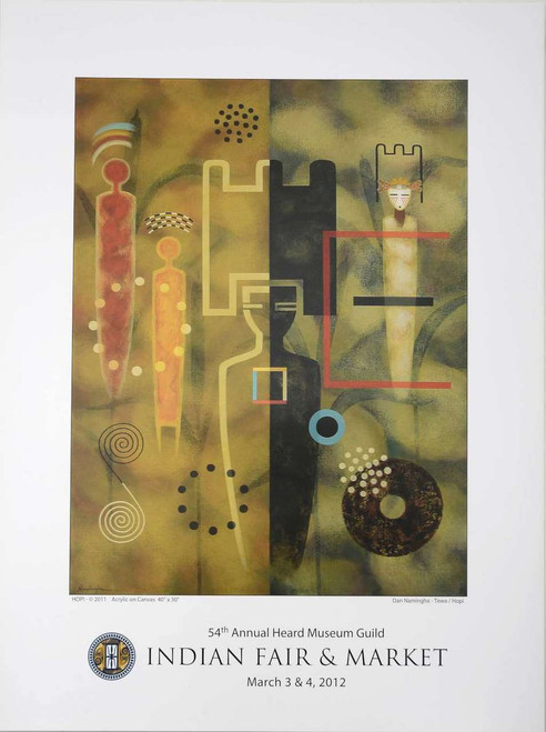 Modern Art Heard Museum Poster 2012