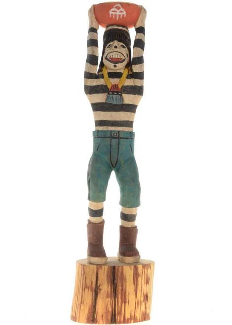 Koshare Kachina Doll 23534