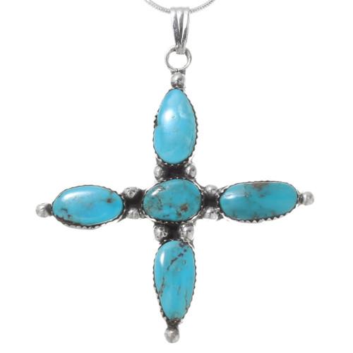 Bisbee II Turquoise Pendant with Chain 29264