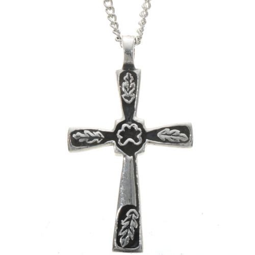 Sterling Southwest Cross Pendant with Chain 28349