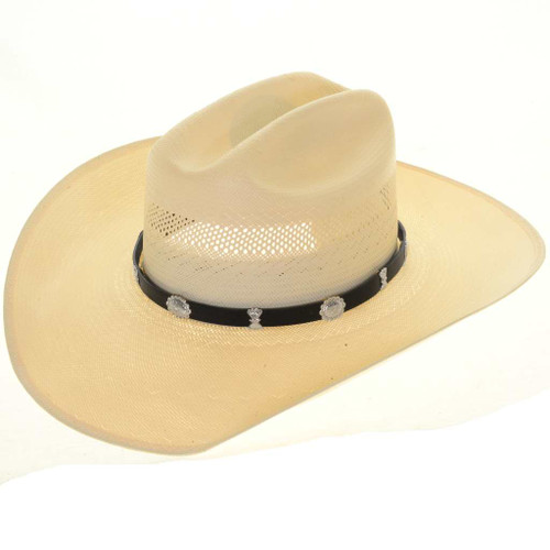 Sterling Concho Hat Band 26003