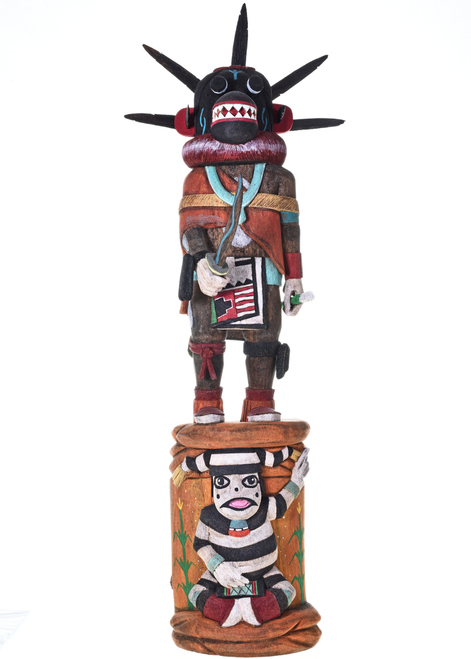 Black Ogre Kachina Doll 29133