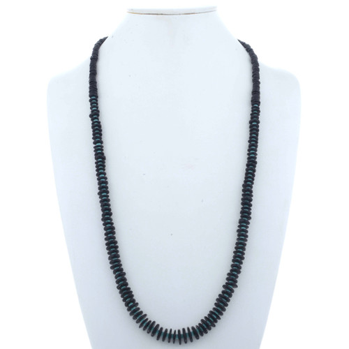 Natural Jet Turquoise Necklace 24969