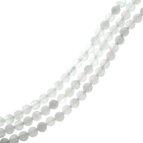 White Glass Beads