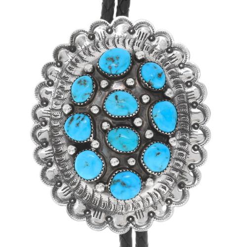 Native American Turquoise Bolo Tie 23405