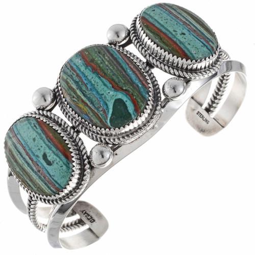 Rainbow Calsilica Bracelet 24766