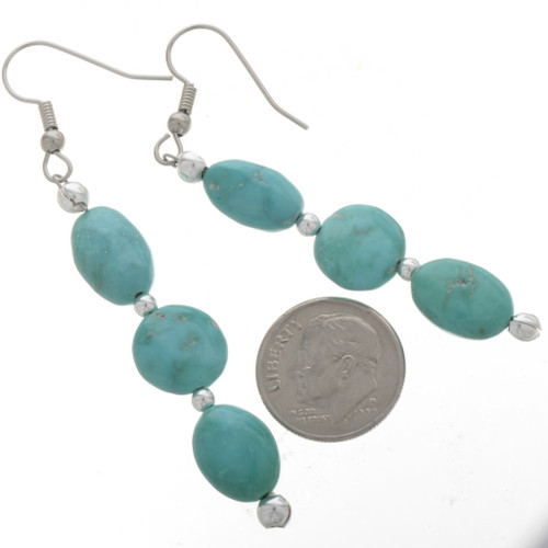 Navajo Made French Hooks Earrings 28258