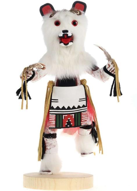 Navajo White Bear Kachina Doll 22240