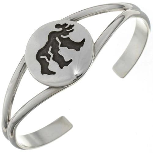 Ladies Silver Bear Bracelet 27171
