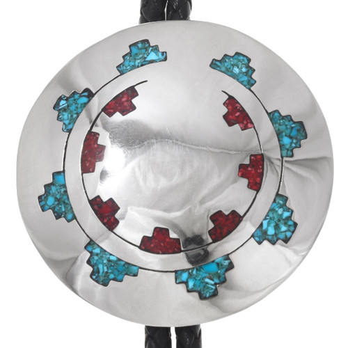 Turquoise Coral Bolo Tie 29640