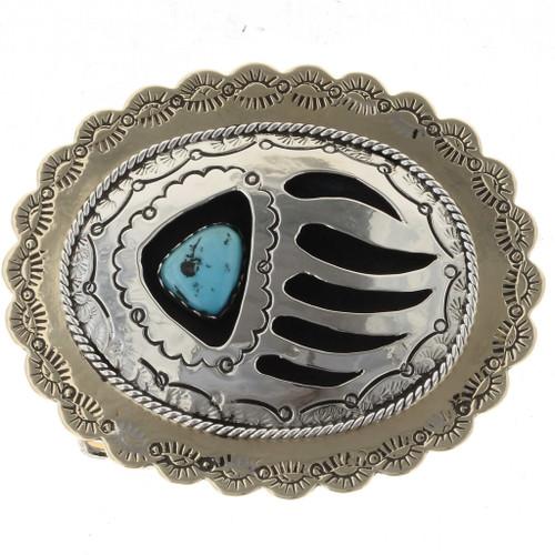 Gold Paw Belt Buckle 15952