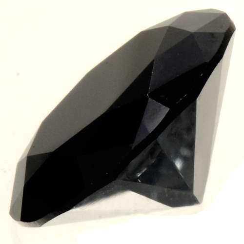 Natural Jet Black Diamond 27550
