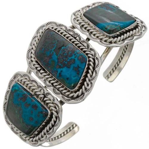 Three Stone Navajo Cuff Bracelet14953