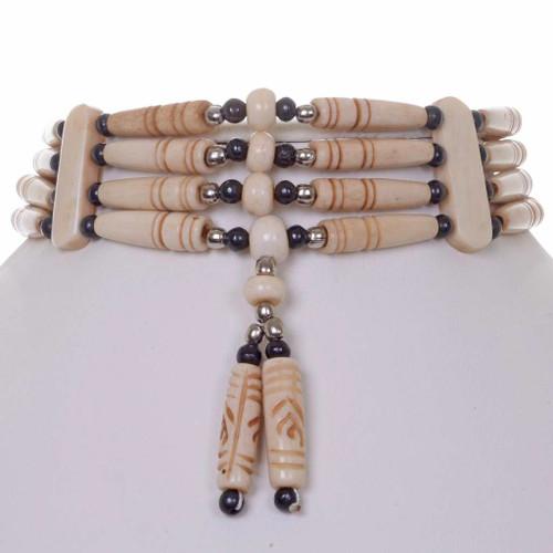 Indian Bone Choker 25392