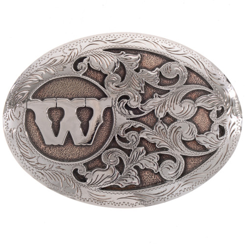 Offset Custom Initial Trophy Buckle 28262