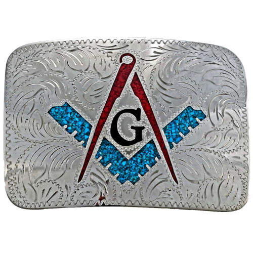 Freemason Belt Buckle 23684