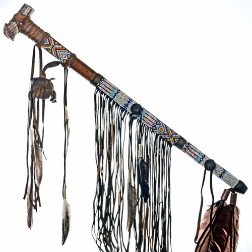 Traditional Medicine Bag Peace Pipe 24560