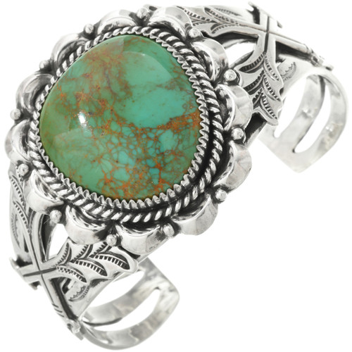 Turquoise Silver Cuff Bracelet 29018