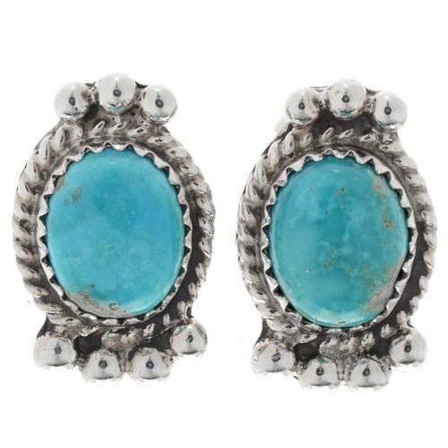 Kingman Turquoise Earrings 27408