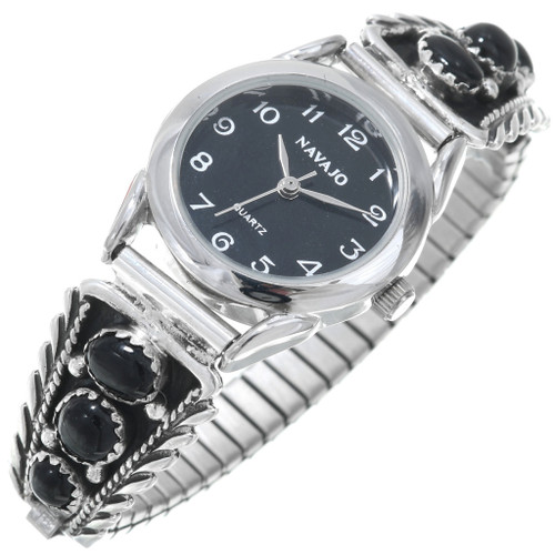Native Black Onyx Watch 23035