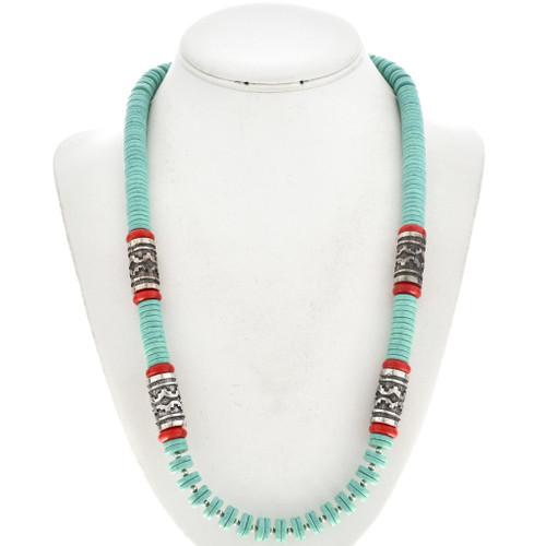 Turquoise Beaded Southwest Necklace 29695