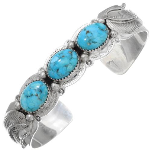 Kingman Turquoise Bracelet 20015