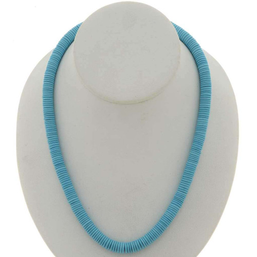 Navajo Turquoise Necklace 26898