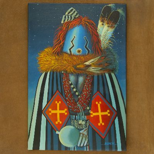 The Night Yei Dancer Navajo Painting Limited Edition Giclée Print by JC Black