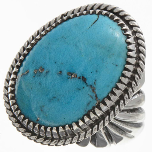 Turquoise Mens Ring 21627