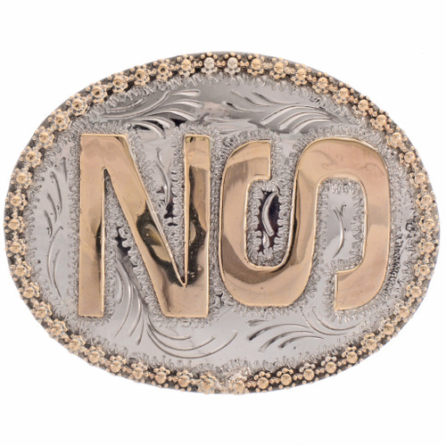 Custom Brand Iniitals Belt Buckle 28314