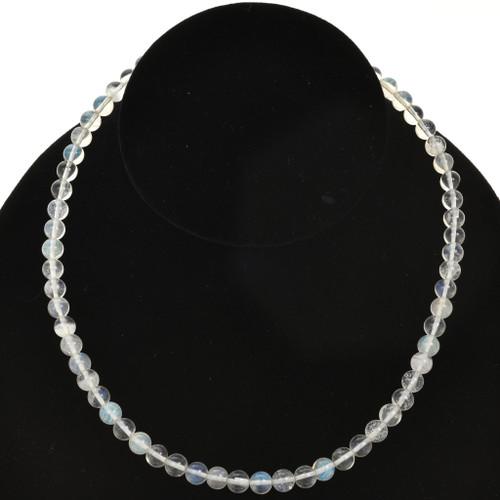 6mm Glass Beads 16 inch Strand
