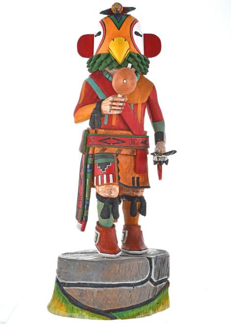 Vintage Hopi Parrot Kachina Doll 29573
