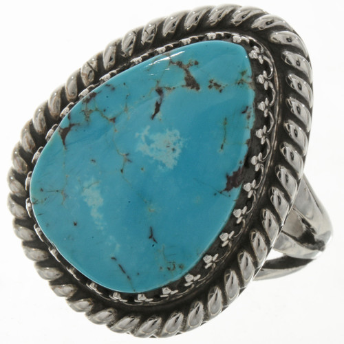 Sleeping Beauty Turquoise Teardrop Ring 27819