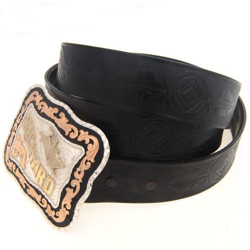 "Genuine Leather Belt 1.5""  Wide 22349"