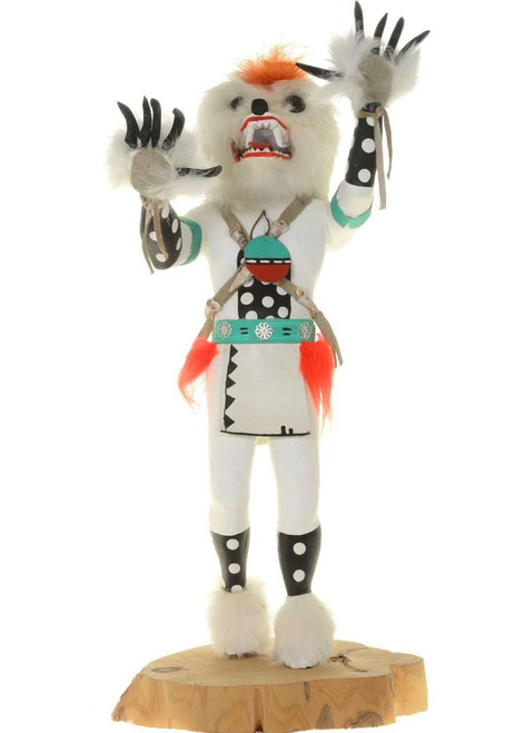 Vintage White Bear Kachina 26545