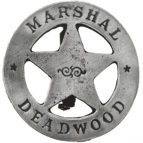 Deadwood Marshal Silver Badge 29184
