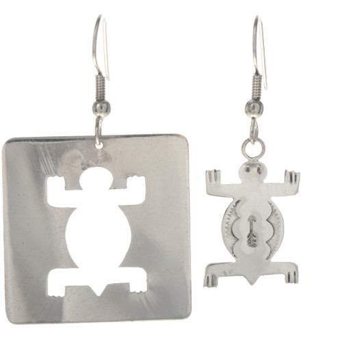 Sterling Silver Turtle Earrings 29379