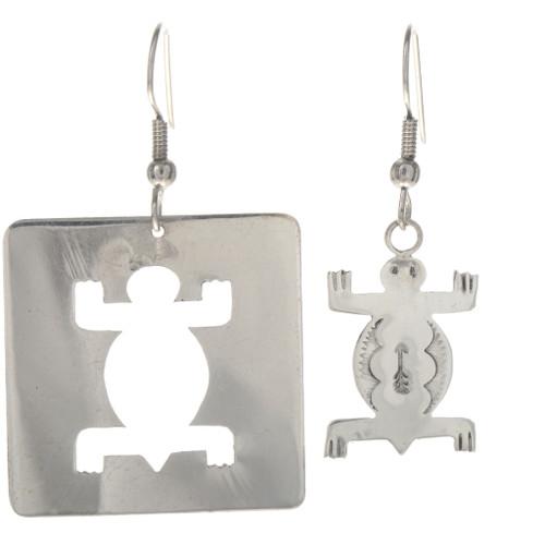 Sterling Silver Turtle Earrings 29379