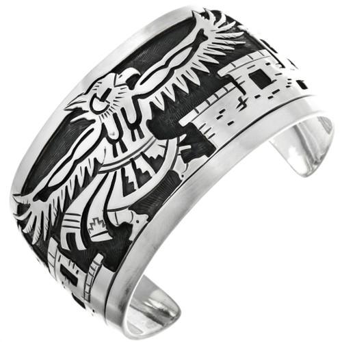 Overlaid Eagle Cuff Bracelet 24553