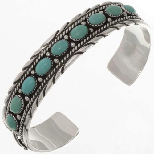Turquoise Silver Bracelet 17723
