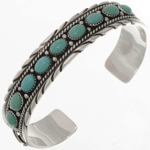 Turquoise Silver Bracelet 17723