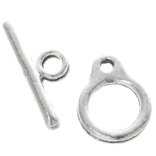 Silver Toggle Hook and Eye SF0019