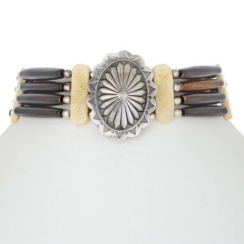 Authentic Indian Bone Choker 17824