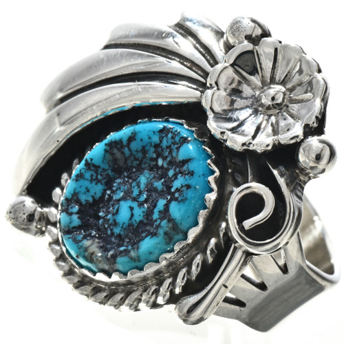 Navajo Turquoise Ladies Ring 27091